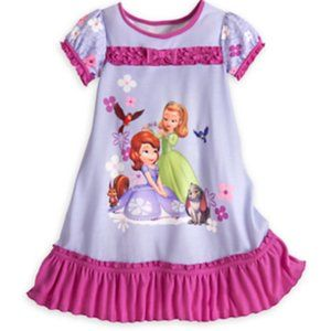 Disney Store Sofia and Amber Nightshirt for Girls
